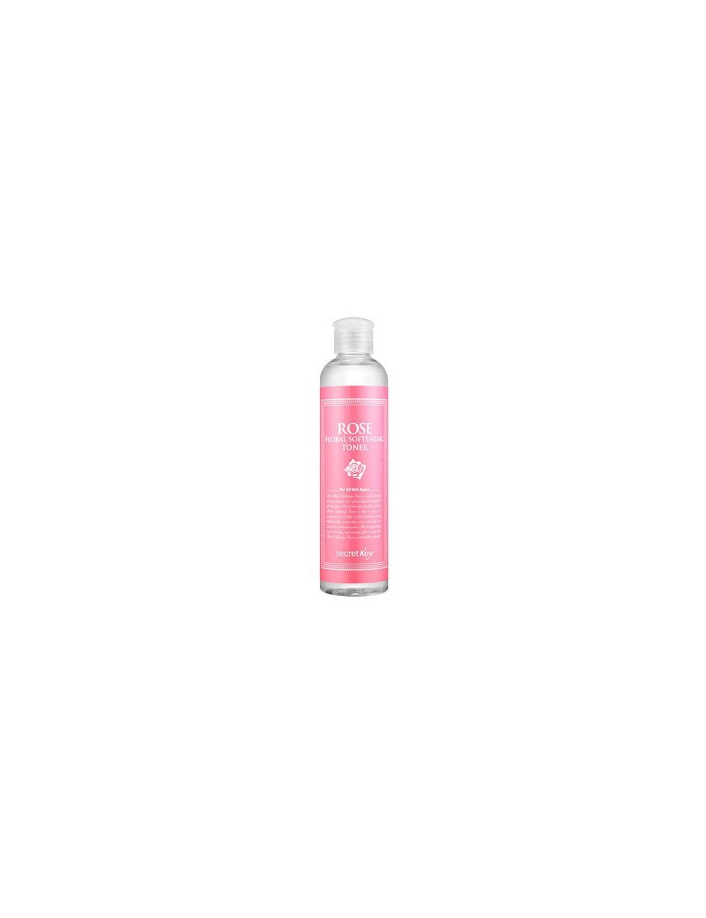 Tónico Reafirmante y Revitalizante Secret Key Rose Floral Softening Toner