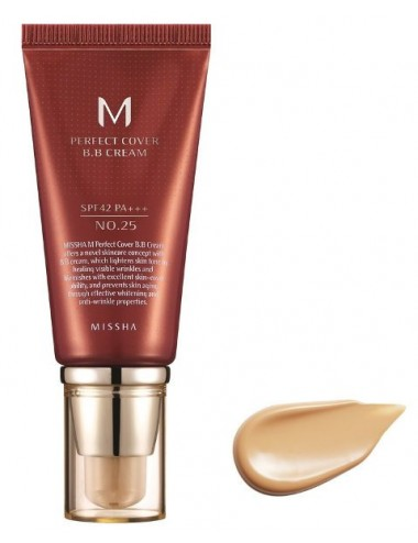M Perfect Cover BB Cream nº 25 (Warm Beige) SPF 42 PA +++ 50ml