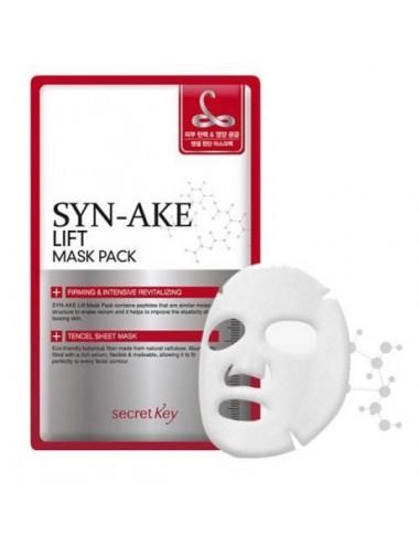 Mascarilla Reafirmante y Revitalizante Secret Key Syn-Ake Lift Mask Pack