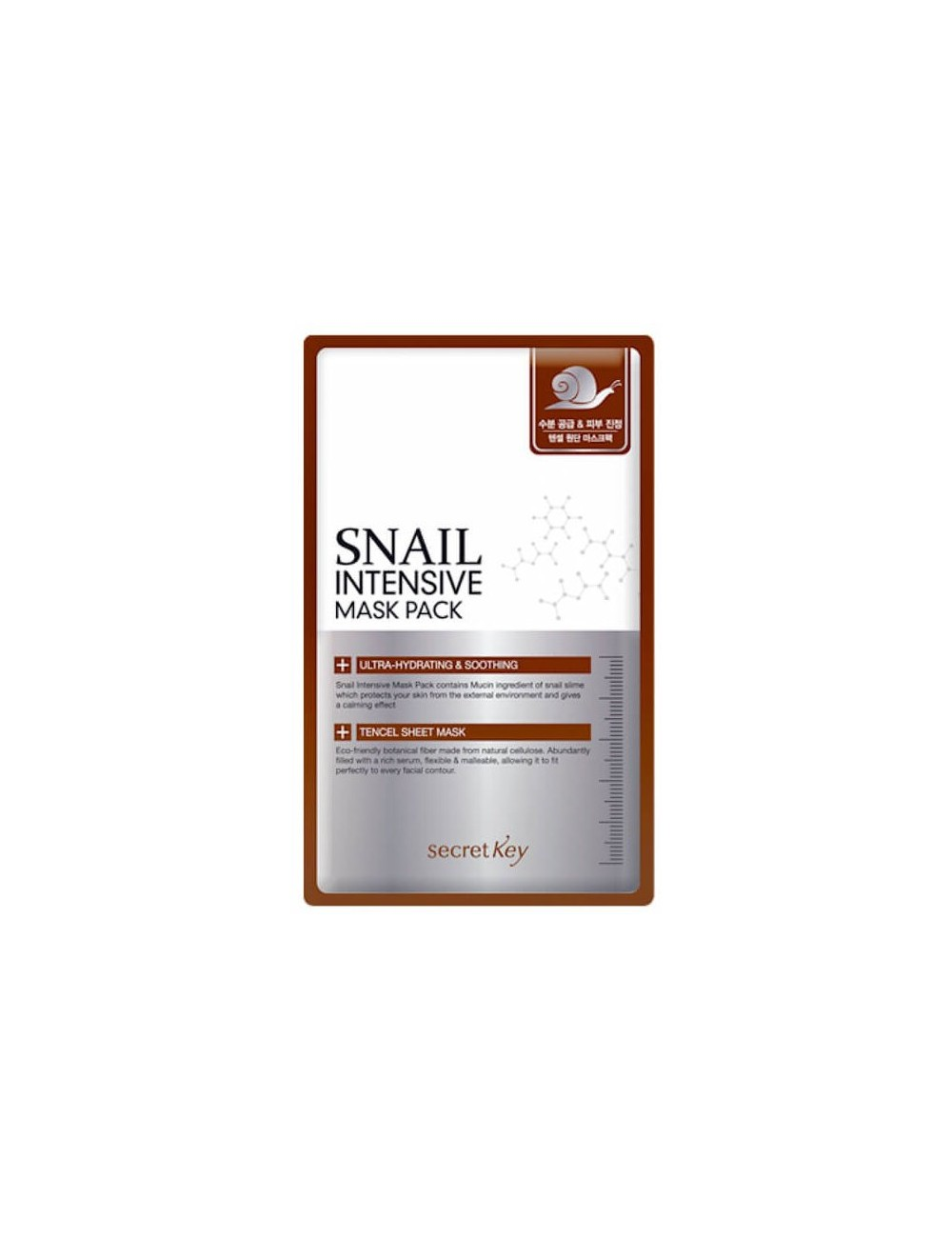 Mascarilla Hidratante y Calmante Secret Key Snail Intensive Mask Pack