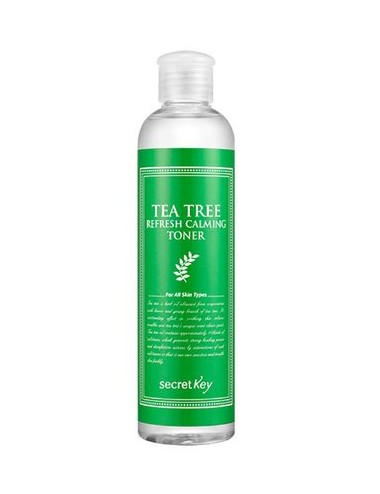 Tónico Calmante y Purificante Secret Key Tea Tree Refresh Calming Toner
