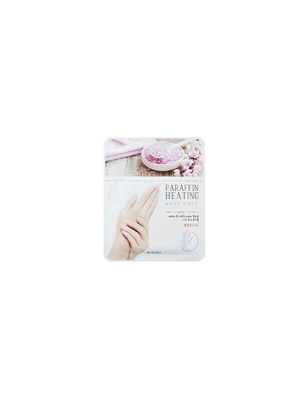 Mascarilla Hidratante de Parafina para Manos Missha Paraffin Heating Hand Mask
