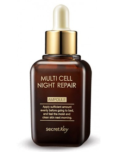 Serum Reparador Nocturno  Secret Key Multi Cell Night Repair Ampoule