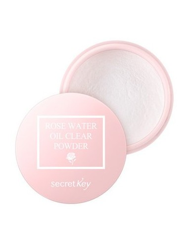 Polvos Traslúcidos Matificantes Secret Key Rose Water Oil Clear Powder