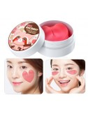 Parches para Contorno de Ojos y Mejillas Secret Key Pink Racoony Hydrogel Eye & Cheek Patch