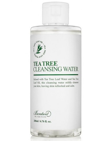 Agua Limpiadora Benton Tea Tree Cleansing Water