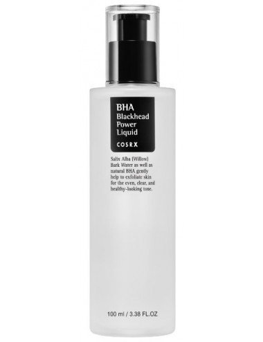 Exfoliante Anti Puntos Negros COSRX  BHA Blackhead Power Liquid