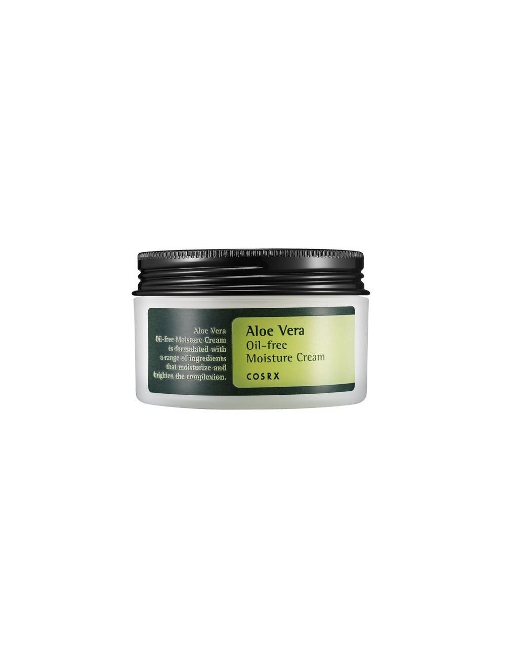 Crema Hidratante y Calmante COSRX Aloe Vera Oil-free Moisture Cream