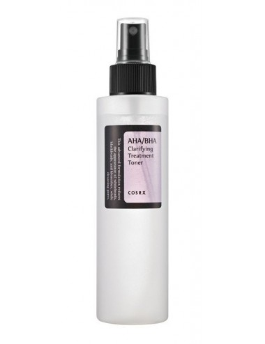 Tónico exfoliante COSRX AHA/BHA Clarifying Treatment Toner