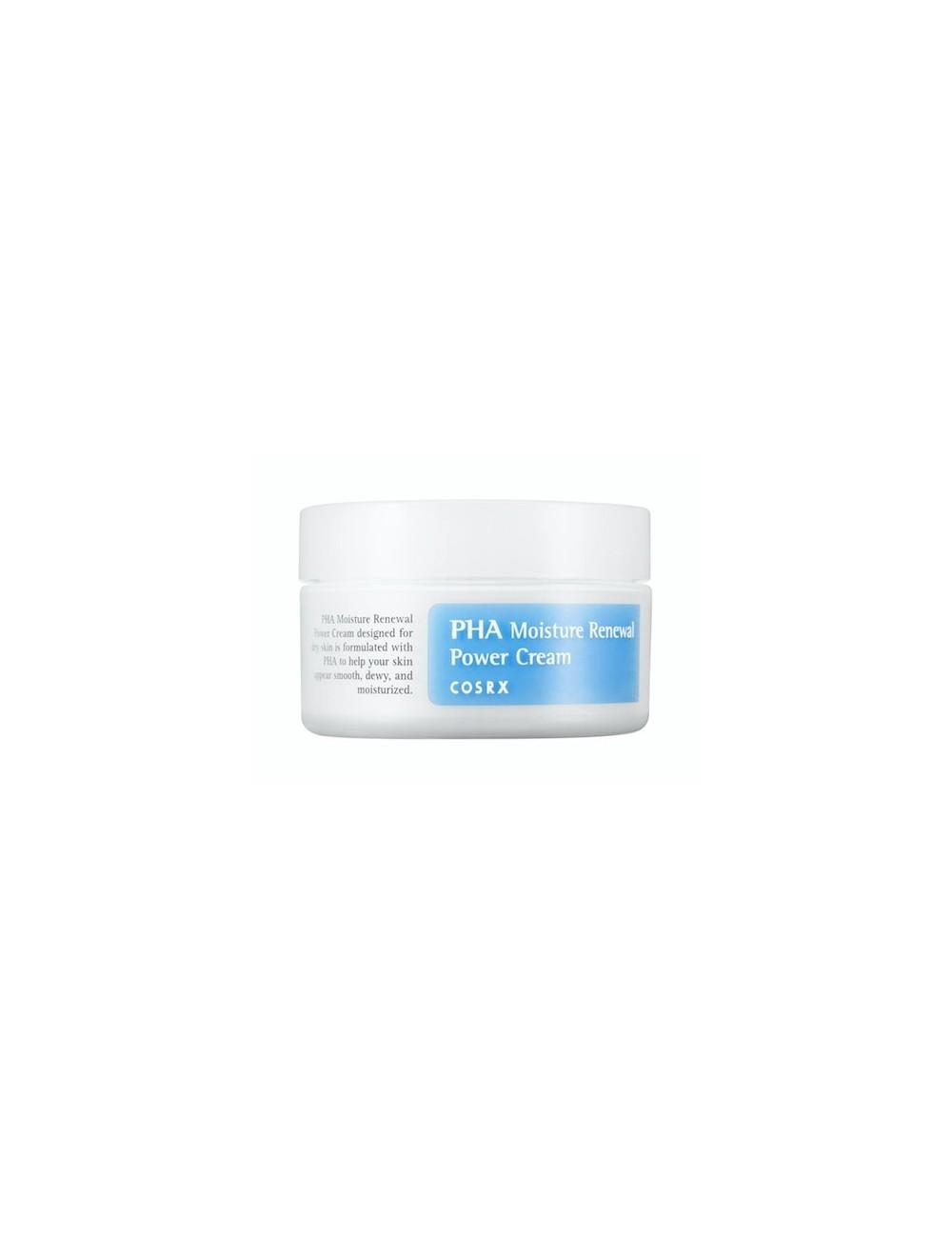 Crema Hidratante COSRX PHA Moisture Renewal Power Cream
