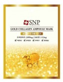 Mascarilla Antiedad Reafirmante SNP Gold Collagen Ampoule Mask