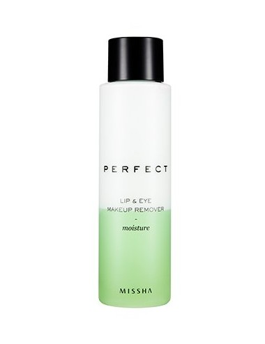 Desmaquillador para Ojos y Labios MISSHA Perfect Lip & Eye Make-Up Remover Moisture