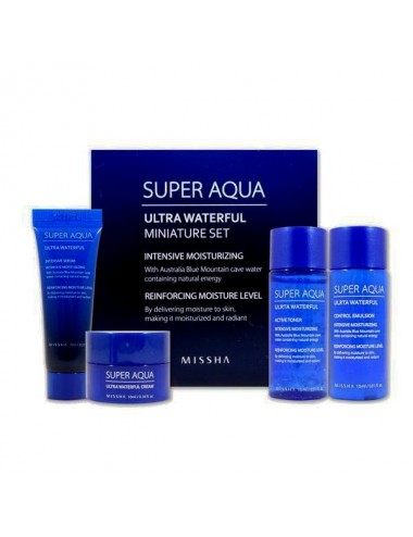 Missha Super Aqua Ultra Waterful Miniature Set