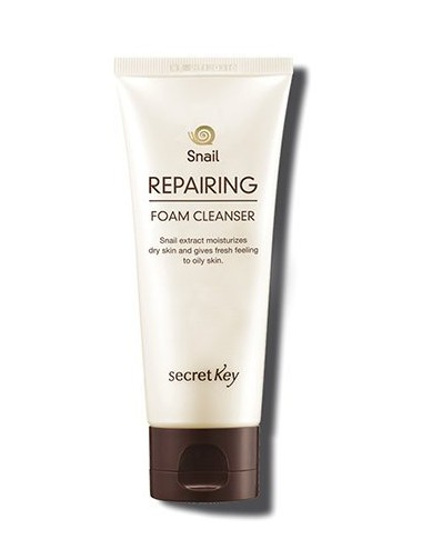 Espuma Limpiadora Secret Key Snail Reparing Foam Cleanser