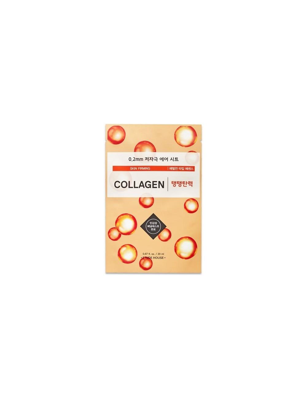 Mascarilla Refirmante Etude House 0.2 Therapy Air Mask Collagen