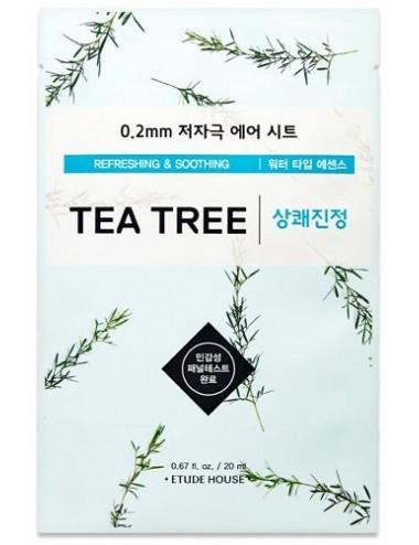 Mascarilla Calmante y Equilibrante Etude House 0.2 Therapy Air Mask Tea Tree