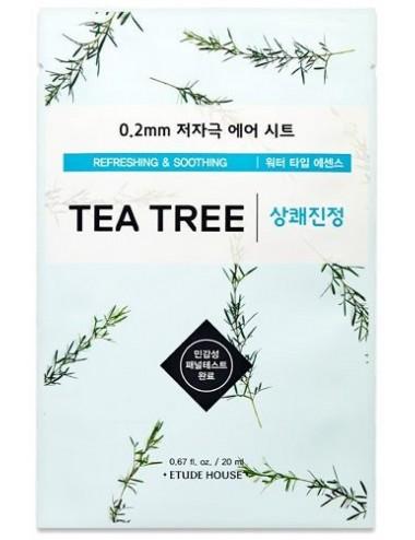 Mascarilla Calmante y Equilibrante Etude House 0.2 Therapy Air Mask Tea Tree