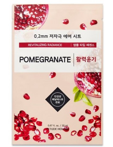 Mascarilla Revitalizante Etude House 0.2 Therapy Air Mask Pomegranate