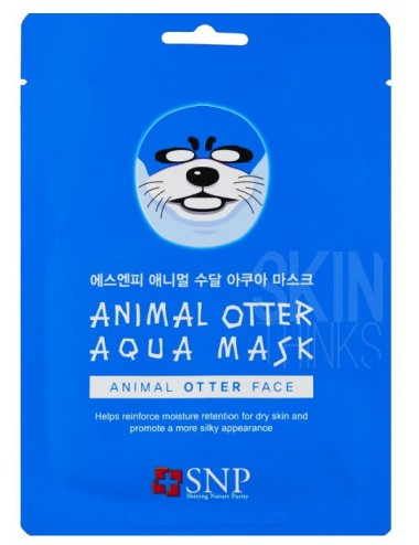 Mascarilla Calmante SNP Animal Otter Aqua Mask