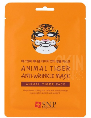 Mascarilla Anti Arrugas SNP Animal Tiger Wrinkle Mask