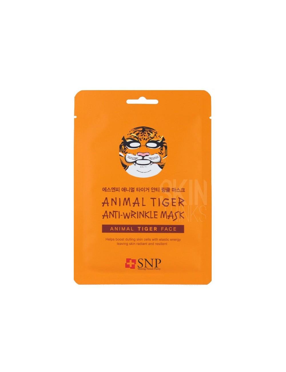 Mascarilla Calmante SNP Animal Tiger Anti Arrugas Mask