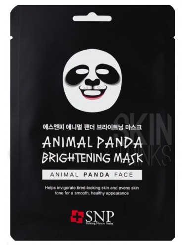 Mascarilla Iluminadora SNP Animal Panda Whitening Mask