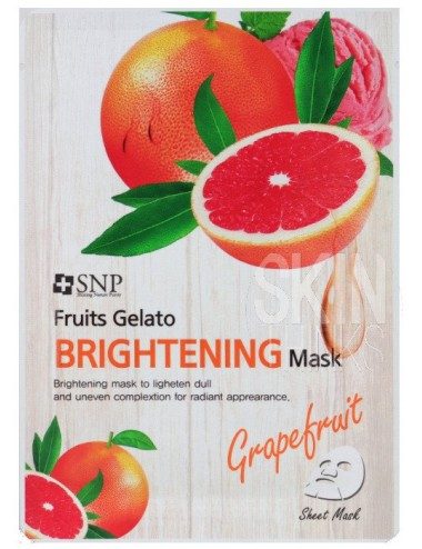 Mascarilla Iluminadora SNP Fruits Gelato Brightening Mask