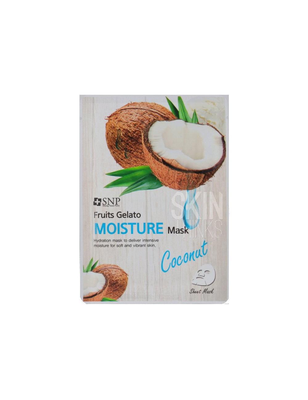 Mascarilla Hidratante SNP Fruits Gelato Moisture Mask