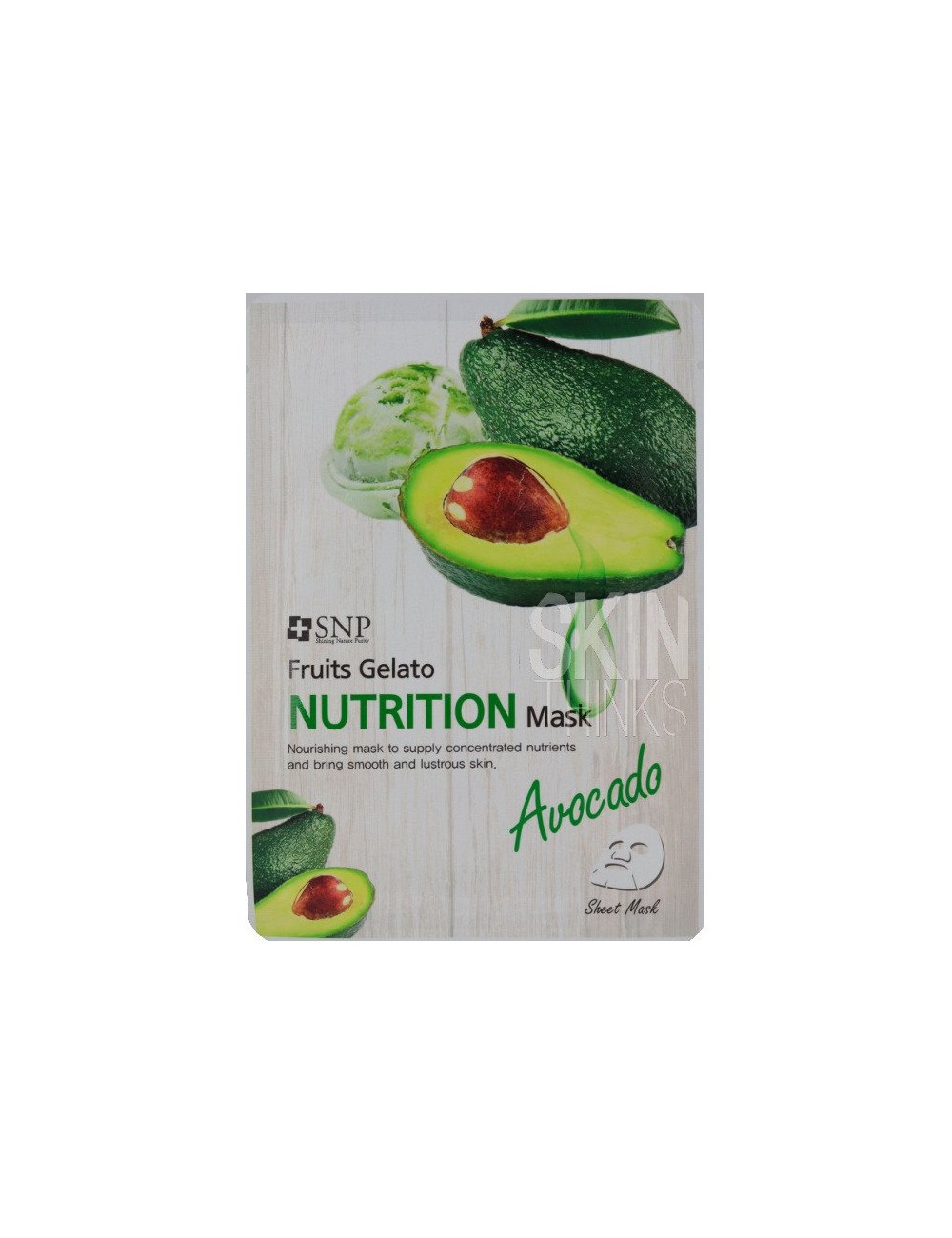 Mascarilla Nutritiva SNP Fruits Gelato Nutrition Mask