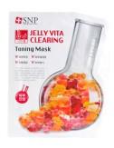 Mascarilla Tonificante SNP Jelly Vita Firming Toning Mask