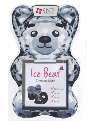 Mascarilla Purificante SNP Ice Bear Charcoal Mask