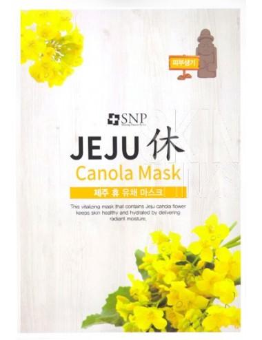 Mascarilla Revitalizante SNP Jeju Rest Canola Mask