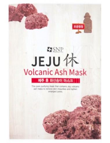 Mascarilla Purificante SNP Jeju Rest Volcanic Ash Mask