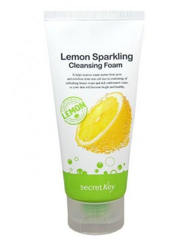 Espuma Limpiadora Secret Key Lemon Sparkling Cleansing Foam
