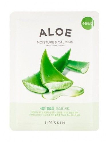 Mascarilla Calmante y Nutritiva It's Skin The Fresh Mask Aloe