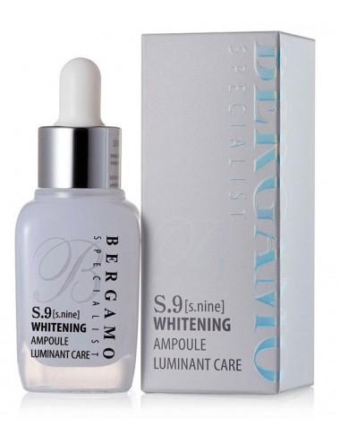 Serum Iluminador-Antimanchas Bergamo Specialist S.9 Whitening Ampoule