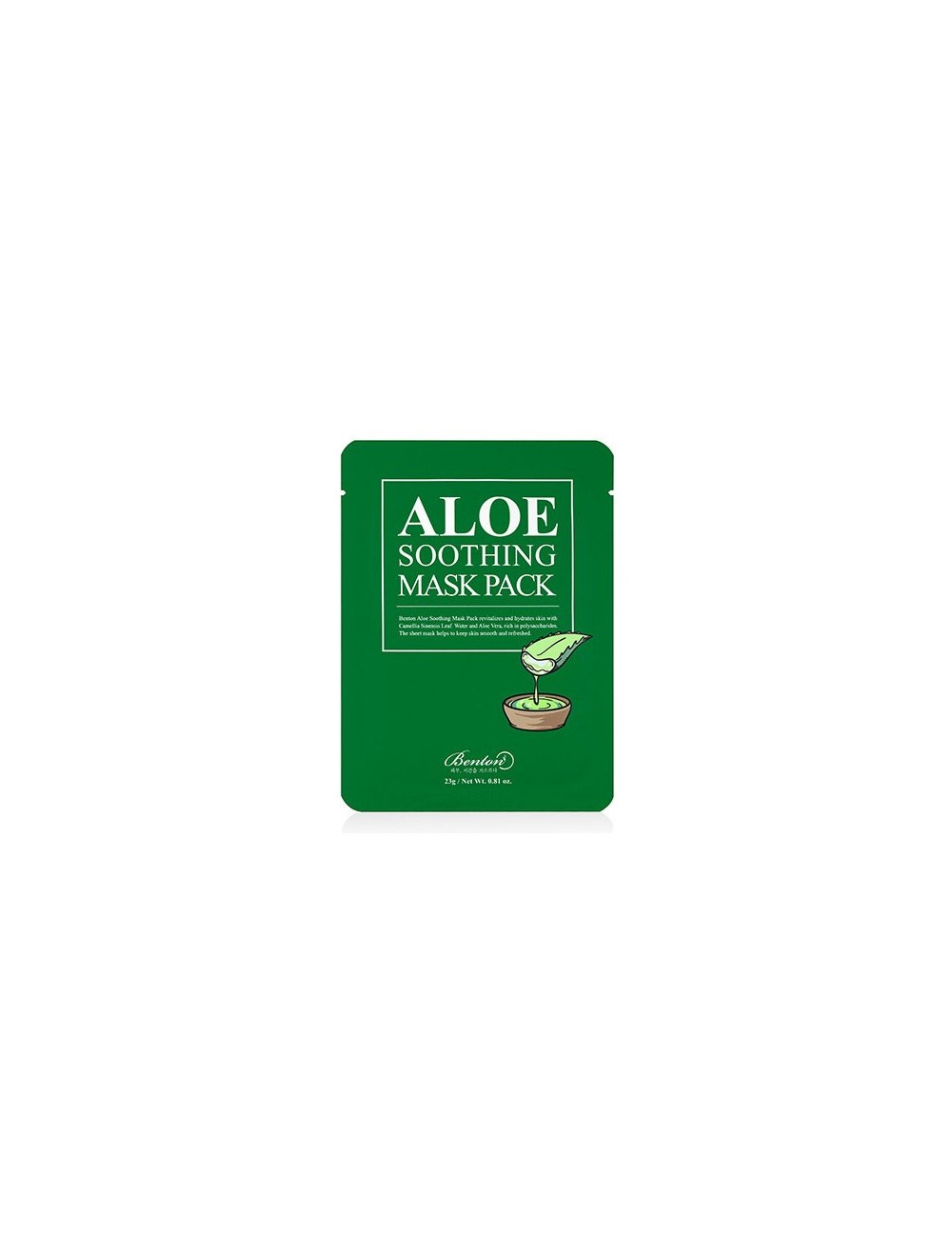 Mascarilla Calmante BENTON Aloe Soothing Mask Pack