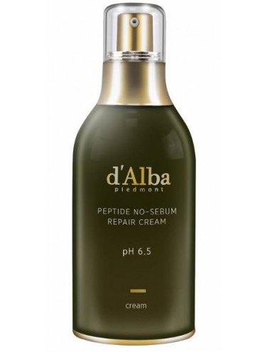 d'Alba Piedmont Peptide No-Sebum Repair Cream