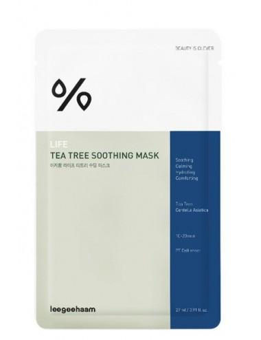 Mascarilla Calmante Leegeehaam Life Tea Tree Mask