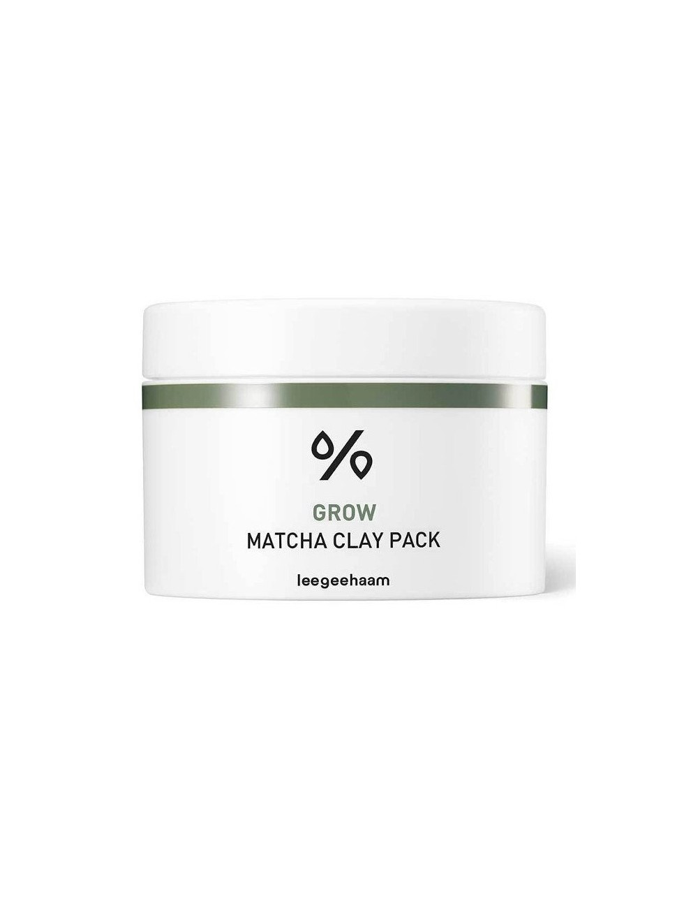 Mascarilla Wash-off Leegeehaam Grow Matcha Clay Pack