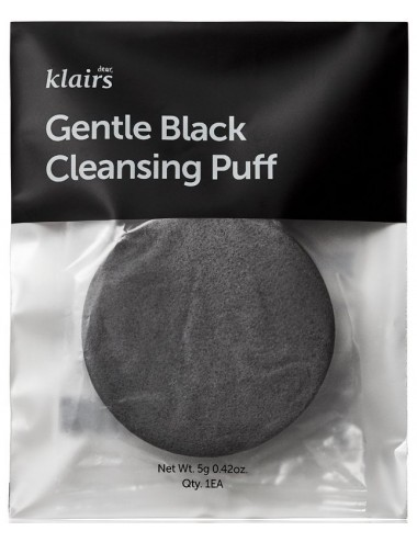 Esponja Facial Klairs Gentle Black Cleansing Puff
