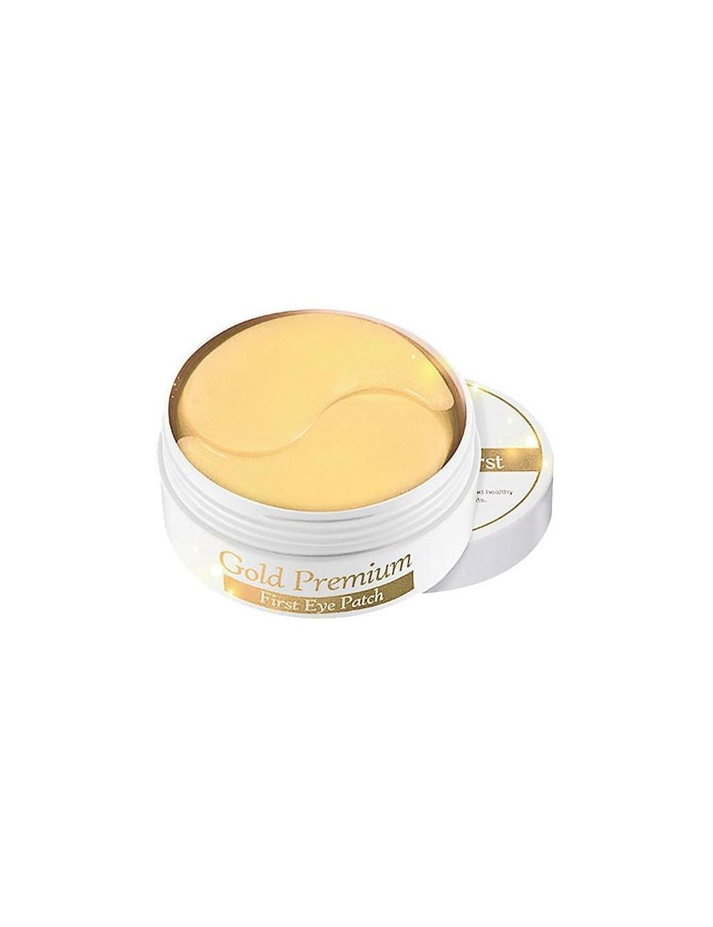 Parches para Contorno de Ojos Secret Key Gold Premium First Eye Patch Patch