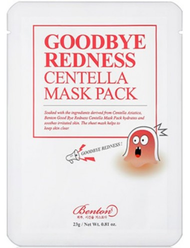 Mascarilla Calmante BENTON Goodbye RednessCentella Mask Pack