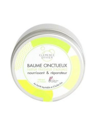 Bálsamo Nutritivo y Reparador Clémence & Vivien Baume Onctueux (Fragancia Cítricos) 150 ml