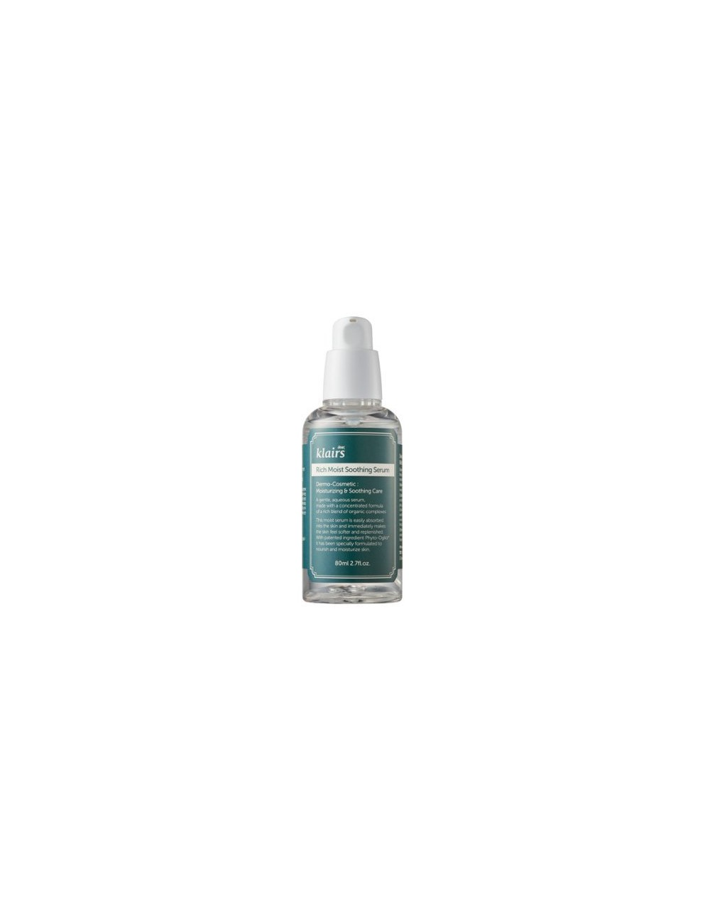 Serum Calmante  Klairs Rich Moist Soothing Serum