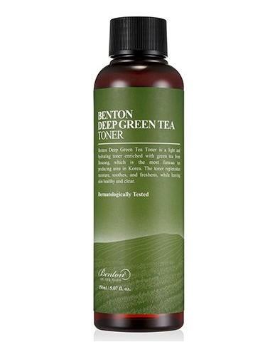 Tónico Hidratante - Benton Deep Green Tea Toner