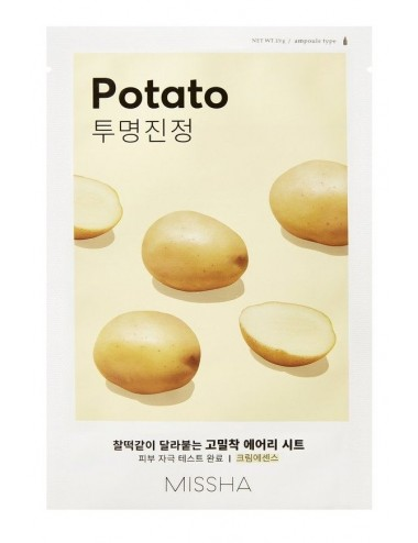 Mascarilla MISSHA Airy Fit Sheet Mask (Potato)