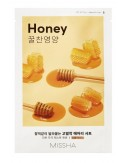 Mascarilla Regenerante y Nutritiva MISSHA Airy Fit Sheet Mask (Honey)