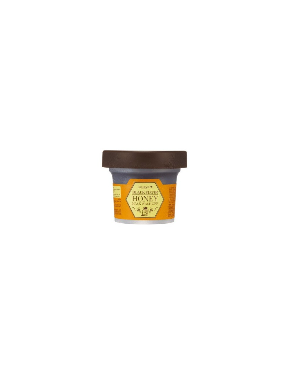 Mascarilla Exfoliante Skinfood Black Sugar Honey Mask  Wash Off