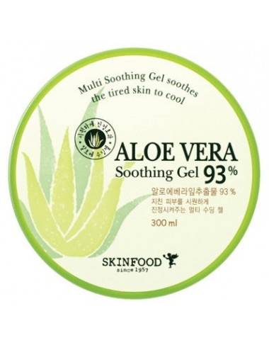 Gel de Aloe SkinFood Aloe Vera Soothing Gel 93%